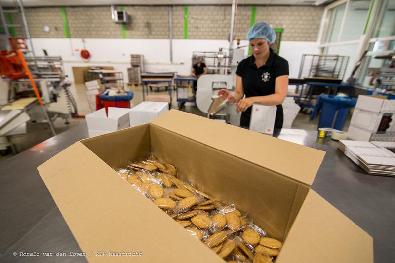 koekjesfabriek Royale KLM Koekjes-7_Ronald van den Hoven / RTV Maastricht.
