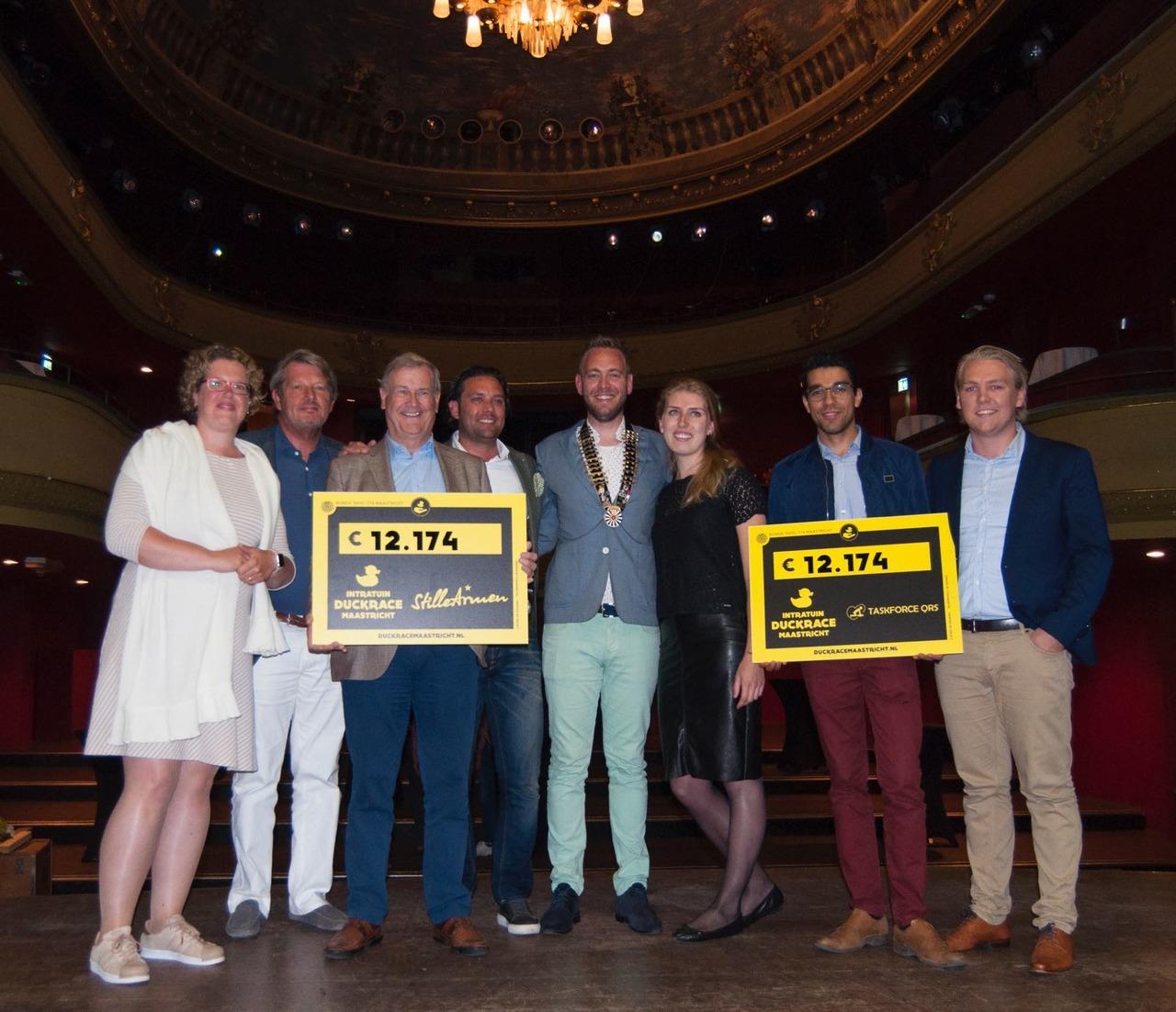 Ronde Tafel Maastricht.Organisatie Duckrace Kan Weer Uitdelen Rtv Maastricht