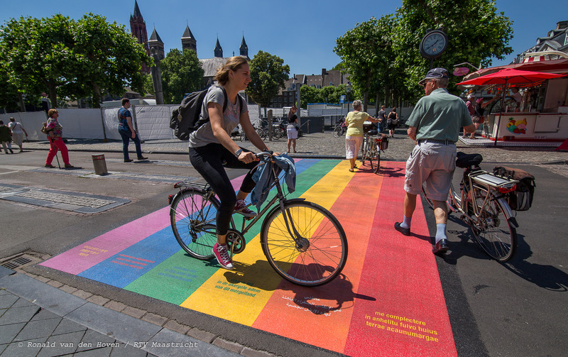 regenboogzebrapad_Ronald van den Hoven / RTV Maastricht.
