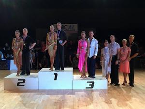 Maastrichts koppel wint voor de 2e keer NK Latin Dansen