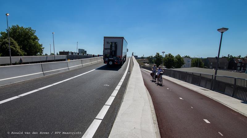 viaducten open noorderbrug_Ronald van den Hoven / RTV Maastricht.