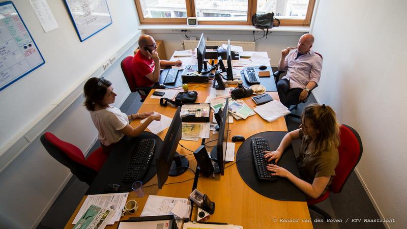 RTVM redactie_Ronald van den Hoven / RTV Maastricht.
