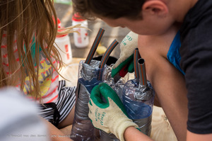 kruidentuintje_kinderen_basisschool_Wyck-2_Ronald van den Hoven / RTV Maastricht.