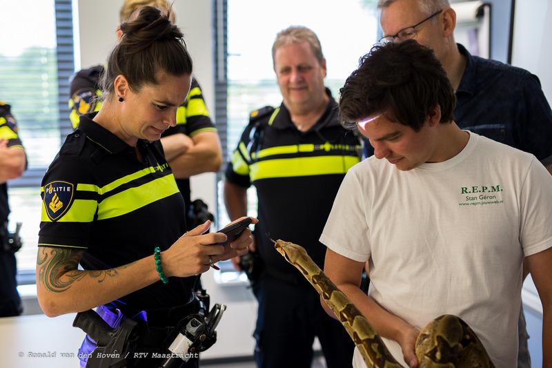 trainingsdag dierenpolitie_Ronald van den Hoven / RTV Maastricht