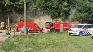 Rook van grottenbrand trekt Maastricht in