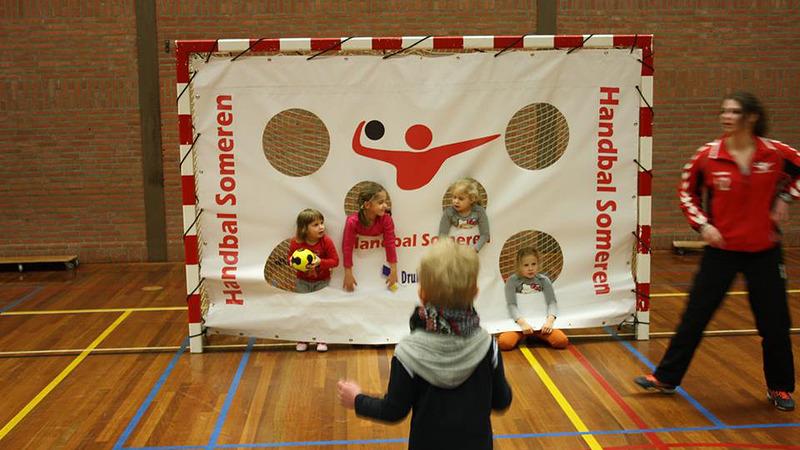 Kabouter- en minihandbal bij Handbal Someren