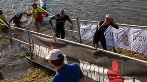 Asielzoekers trainen voor Ironman