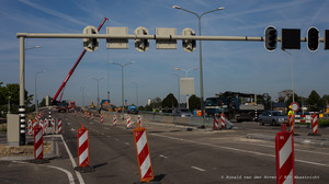 Geen verkeerschaos door sluiting Noorderbrug