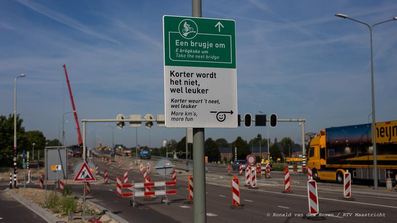 werkzaamheden dicht noorderbrug-2_Ronald van den Hoven / RTV Maastricht.