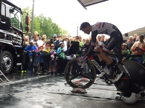 Dumoulin 3e in tijdrit BinckBank Tour