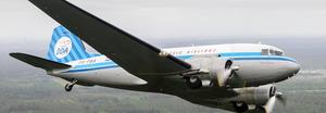 Vliegen met de Dakota vanaf Maastricht Airport