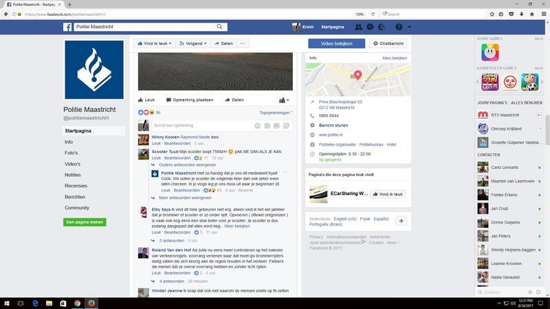 Facebook politie