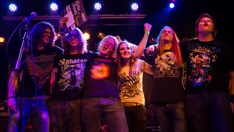 Ravenous publiekswinnaar finale Battle for Bands in OJC Comeet