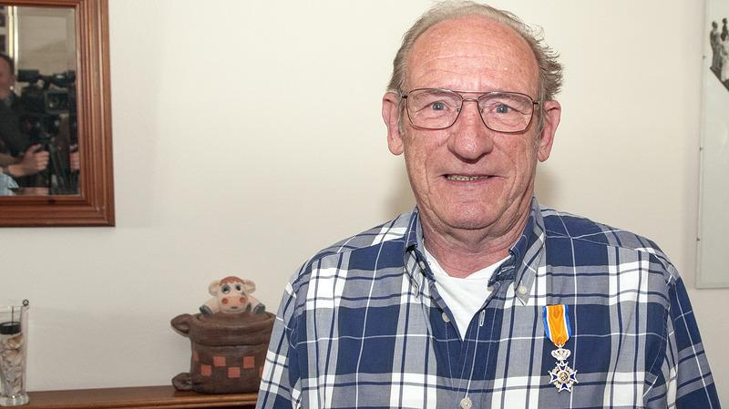 Koninklijke onderscheiding voor Herman Winkelmolen (+ VIDEO)