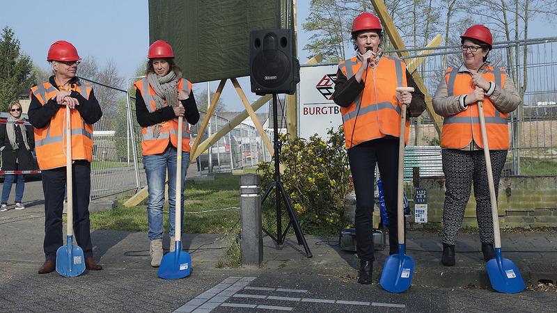 Start nieuwbouw Kindcentrum Het Talent