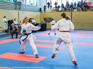 Belangrijke punten voor karateka Ingrid Creemers