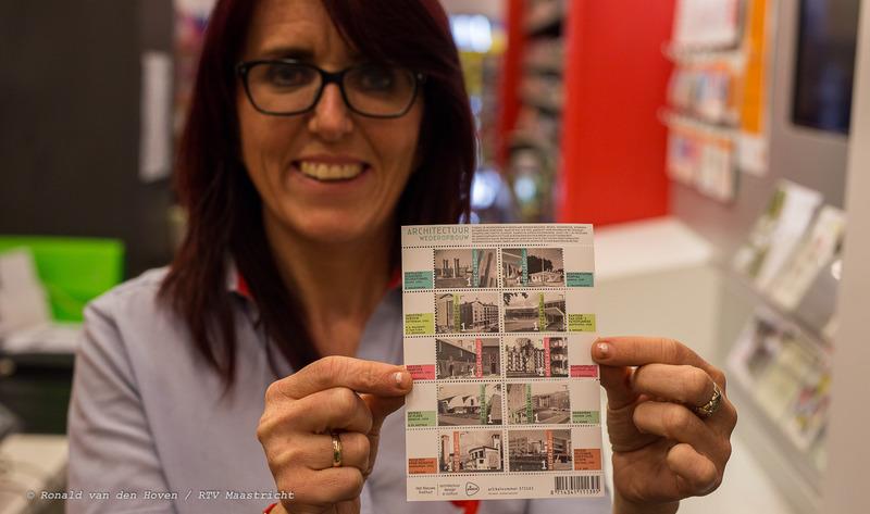 postzegels gemeenteflat_Ronald van den Hoven / RTV Maastricht.