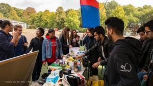 Studenten uit St. Maarten helpen vaderland