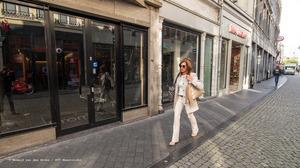 Flink wat winkelleegstand in Maastricht