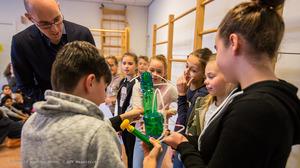 Groene Stappen door de kinderen van BS de Maasköpkes