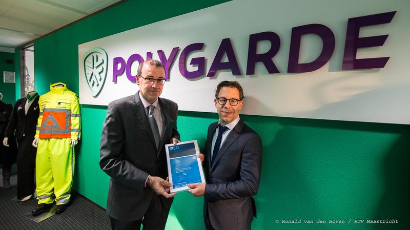 uitreiking_keurmerk_polygarde_Ronald van den Hoven / RTV Maastricht.