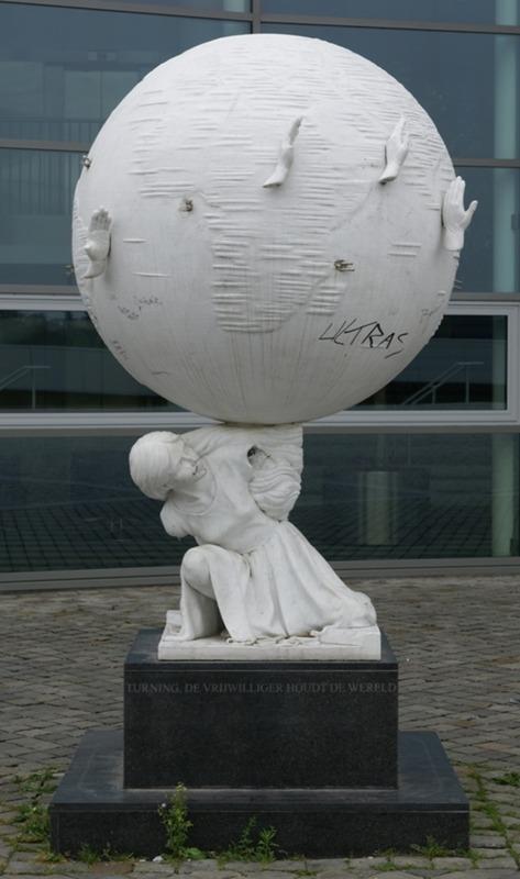 monument van de vrijwilliger