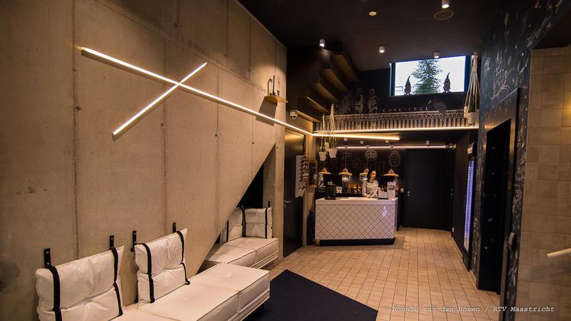 Kaboom Hotel Hotelkamer slaapkamer receptie_Ronald van den Hoven / RTV Maastricht.