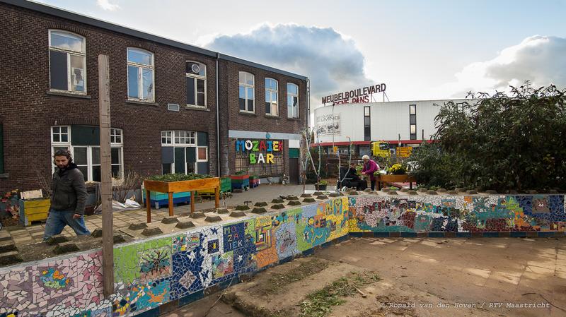 Mozaiëk muur_Ronald van den Hoven / RTV Maastricht.