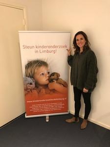 Caroline Hermans ambassadrice Kinderonderzoekfonds