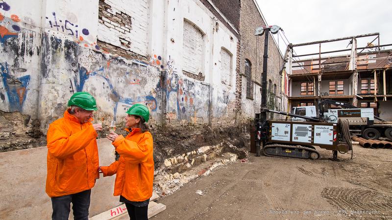start bouw muziekgieterij_Ronald van den Hoven / RTV Maastricht.