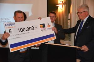 Droom van Daniëlle 100.000 euro dichterbij