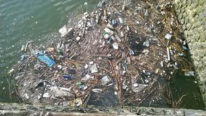 Vrijwilligers onderzoeken plasticsoep in Maas