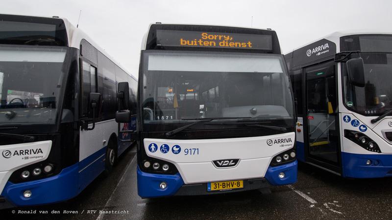 ARRIVA staken-3_Ronald van den Hoven / RTV Maastricht.