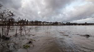 Veel meer water door de Maas