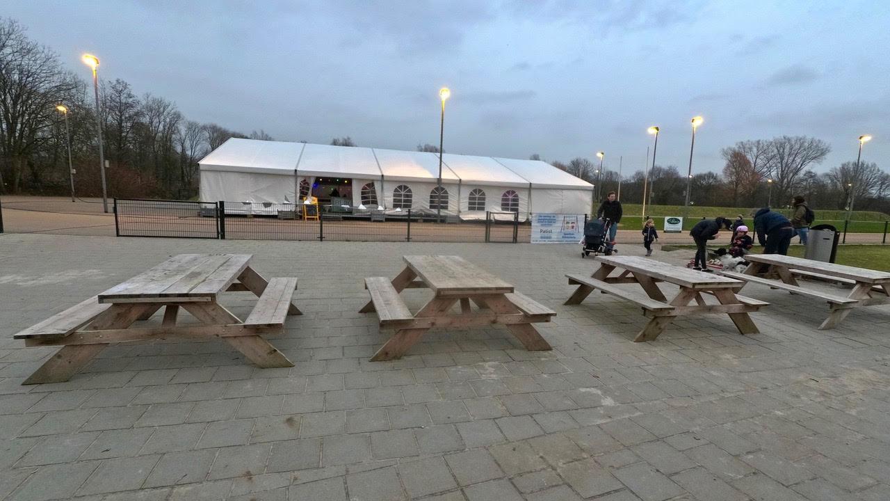 Ijsbaan Op Sportpark Blikkenburg Slotstad Zeist